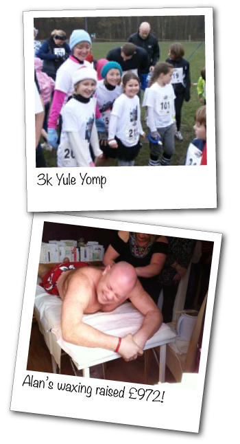 Fundraising - Yule Yomp and Alan's Waxing!