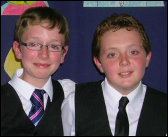 Alex & Jack, leavers play